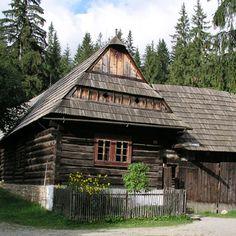 Slovakia, Zuberec - Folk Architecture