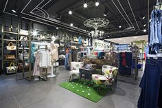 Oasis store at Trinity Centre by Dalziel and Pow, Leeds   UK