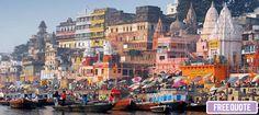 Holy Bed of India - Benaras. #TraveltoIndia #Varanasi