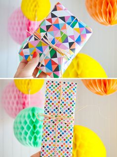 wrapping paper by Mini-Mega