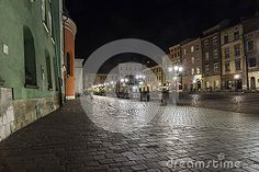 A small market in Krakow by night, located next to the main market square. http://cracow.travel/guide-to-krakow/let-s-visit/old-town/action,get,id,3499,t,Small-Market-Square.html