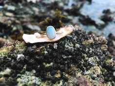 One & only opal ring. Gold and opal ring. 14k Gold Ring, Gold Rings, October Birth Stone, Opal Rings, Solid Gold, Birthstones, Engagement Ring, Bohemian, Stud Earrings