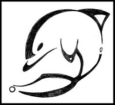 maybe a dolphin tattoo?