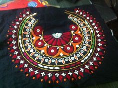 Stunning piece of Kutch Embroidery