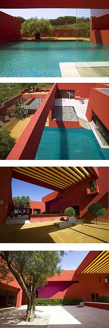 Legorreta, Andalusia  What an amazing architect!