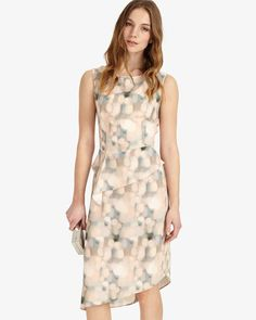 a68c2ef983fa Phase Eight Azzura Print Dress UK Size 12 TD075 PP 25  fashion  clothing