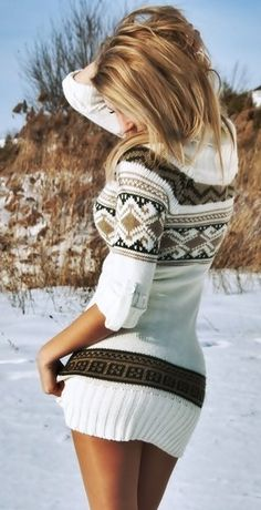 Awesome sweater dress!!
