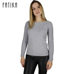 Special offer FATIKA Winter Women's Long Sleeve Casual Cashmere Pullovers Female Lover Trendy Solid Pull Femme Knitted Sweater just only $12.52 with free shipping worldwide  #womansweaters Plese click on picture to see our special price for you