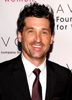 "Patrick Dempsey. Because I loved his character in ""Iron Jawed Angels"". And because I like boys with dark spiky hair and nice teeth."