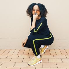 Tracksuit and Nikes