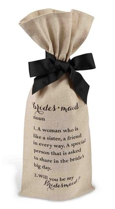 Will you be my bridesmaid ideas for bridesmaid proposal via Aisle Perfect