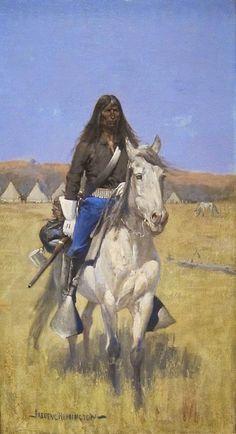 Mounted Indian Scou
