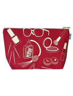 $35 Maptote - Red Makeup Pouch