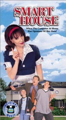 Smart House (1999) Poster  Smart House details the folly of man's ambition when it comes to technological advancement. The house starts dictating the lives of the unfortunate family that resides within and threatens their well-being.   Reading Level: 6-12