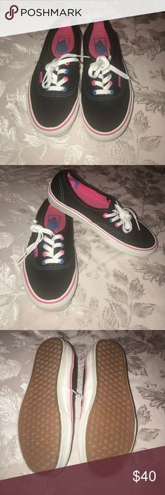 Vans Women's vans. Used a couple of times, they are in great condition. Vans Shoes Athletic Shoes