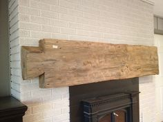 Use these photos found on other Pinterest sites to inspire your ideas for a reclaimed barn wood mantel in your own home. We use wood from dismantled barns and log homes dating from the 1800's to early 1900's to create rustic, one-of-a-kind, reclaimed barn wood furniture, in the heart of Amish Country, Lancaster, PA. Custom orders are our specialty. Visit our showroom located in Intercourse, PA. www.braunfarmtables.com