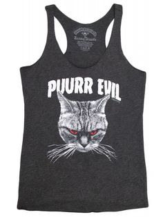 Women's Purr Evil Tank Top