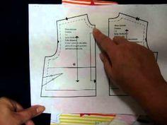 Marcas o señales de los patrones por Patrones y costura