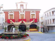 Ayuntamiento, Abanilla, Murcia.