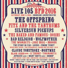 Fun 1-day festival in the Bay Area: Offspring, Wolfmother, The Naked & The Famous