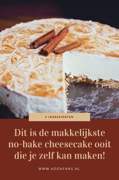 Pie Cake, No Bake Cake, Good Food, Yummy Food, High Tea, Cake Cookies, Food Inspiration, Sweet Recipes, Baking Recipes