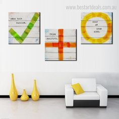 Add a touch of positive inspirational quotes in your office or study room space by hanging this digital art on canvas. #motivationalart #quotesart #artgoals #artlovers 3 Piece Canvas Art, Canvas Art Prints, Online Art Store, Modern Frames, Quote Prints, Wall Art Decor, Typography, Positivity, Digital Art