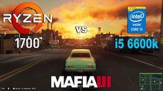 Ryzen 7 1700 vs i5 6600k in Mafia 3 (GTX 1060)