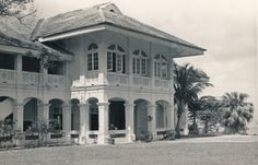 Blakang Mati, [Now Sentosa] Singapore Now the Capella Singapore luxury hotel. Colonial India, British Colonial Style, Philippine Architecture, Colonial Architecture, Dream House Exterior, Long Xuyen, Living Room Designs, My House, Singapore