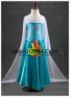 Frozen Children's Elsa Frostflake Brooch Cosplay Costume