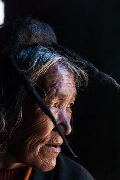 Weathered beauty . Bhutan