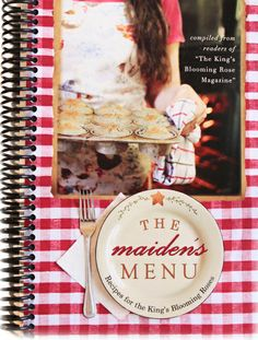 KBR Ministries » The Maiden's Menu - would be great for daughter's hope chest.
