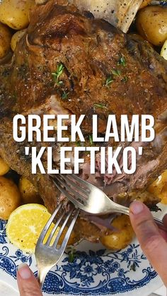 Greek Lamb Kleftiko Kleftiko is a traditional Greek recipe for unbelievably tender and succulent lamb. Simply marinate then sit back and let your slow cooker, I Slow Cooking, Greek Cooking, Cooking Recipes, Arab Food Recipes, Slow Cooker Lamb Recipes, Slow Cooker Recipe Videos, Slow Cooker Recipes Dessert, Oven Recipes, Greek Lamb Recipes