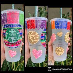 Starbucks Cup Design, Starbucks Tumbler Cup, Starbucks Art, Starbucks Valentines, Personalized Starbucks Cup, Custom Starbucks Cup, Personalized Cups, Starbucks Drinks, Cup Art