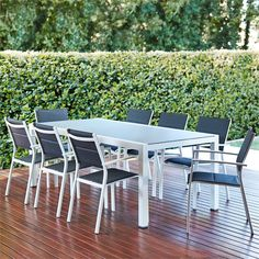 Mimosa 9 Piece Coral Bay Dining Setting