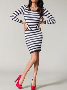 KocoSky - Striped seamless dress, $49.00 (http://www.kocosky.com/striped-seamless-dress/)