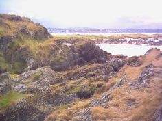Looking back towards Bangor from the east.