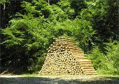 Piled forest - 2006. Percorso Arte Natura di Arte Sella, Borgo Valsugana - Italy