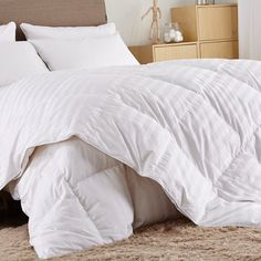 Comforter Set Hotel Quality Elegant White | Rugs Carpet Ideas