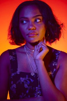 Afro Hairstyles, Celebrity Hairstyles, Colour Gel Photography, Face Photography, Pretty People, Beautiful People, China Anne Mcclain, Disney Channel Stars, Black Lightning