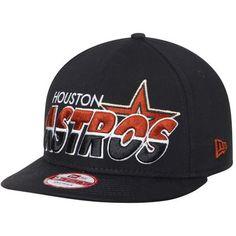 Houston Astros New Era Team Horizon 9FIFTY Snapback Adjustable Hat - Black