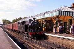 Steam train on the North Norfolk Railway (Poppyline). Description from geograph.org.uk. I searched for this on bing.com/images