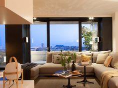 Un piso de diseño contemporáneo