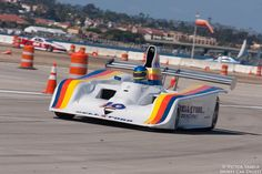 Brent Berge and his 1978 Lola T133.