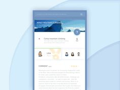 Info details interface by Leo Leung—The Best iPhone Mockups for Your Next Product → store.ramotion.com