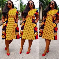 Best African Dress Designs : Scintillating Latest Fashion Styles You Will Love Best African Dress Designs. Hi ladies, today we present the latest trend of African dresses designs that will inspire you to combine your accessories in a s Best African Dress Designs, Modern African Print Dresses, African Dresses For Kids, African Fashion Ankara, African Traditional Dresses, Latest African Fashion Dresses, African Dresses For Women, African Print Fashion, African Attire