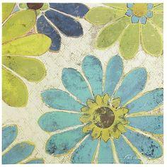 Pinwheel Flora Art