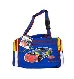 Vintage 1990s 90s 1996 Deadstock Nascar Jeff Gordon #24 Dupont Duffle Duffel Bag Racing Sportswear