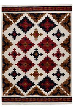 Kerala wool Kilim - Ellos. Our new livingroom carpet.
