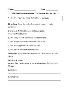 Midpoint And Distance Formula Worksheet With Answers Image Result For Grade  Collective Nouns Worksheet South Africa  Decimal Worksheets Grade 4 Pdf with First Grade Math Worksheets Printable Word Circling And Writing Collective Nouns Worksheet Writing A Summary Worksheet