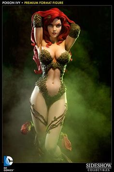 Poison Ivy is the first DC Comics villainess to join Sideshow's line of Premium Format Figures. Description from leagueofcomicgeeks.com. I searched for this on bing.com/images